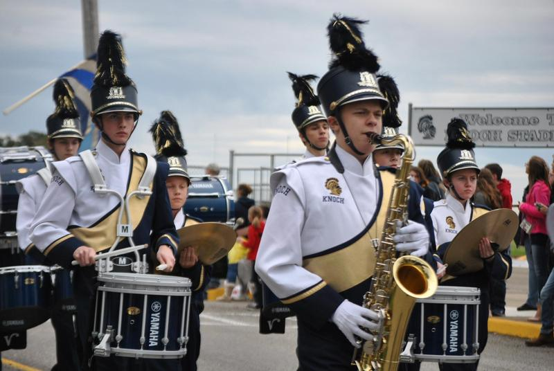 Pic of Knoch Marching Band