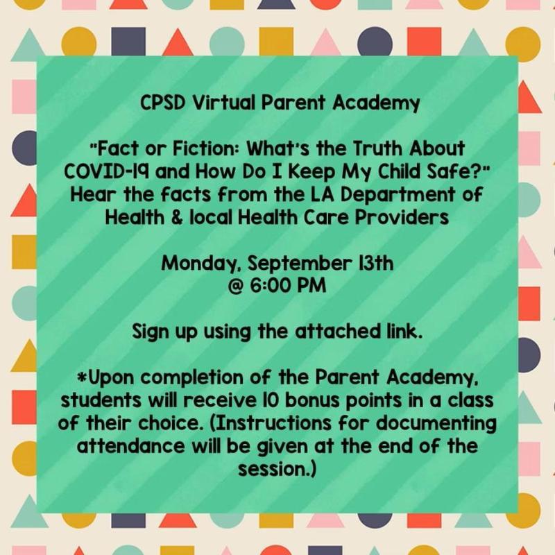 Virtual Parent Academy