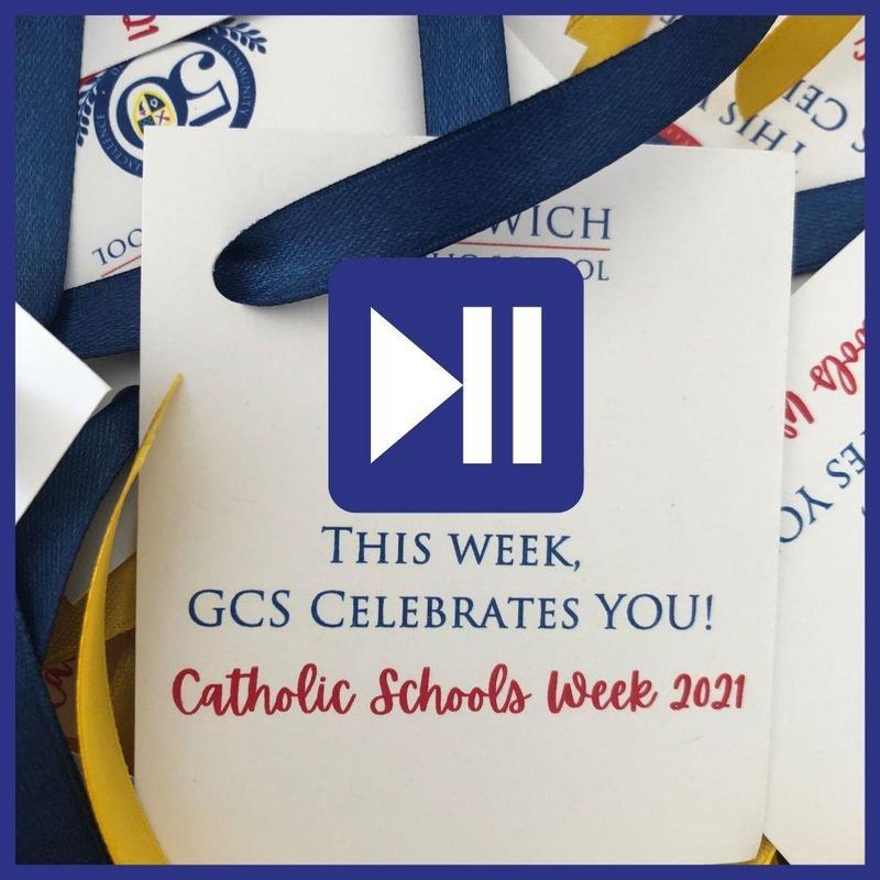 Catholic Schools Week 2021 Recap Video Thumbnail Image