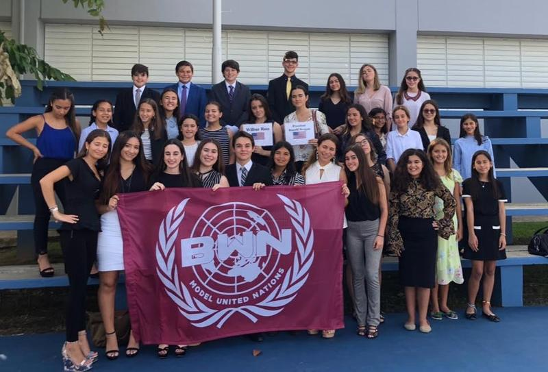 Model UN Club outstanding performance at 1st conference of the school year! Featured Photo