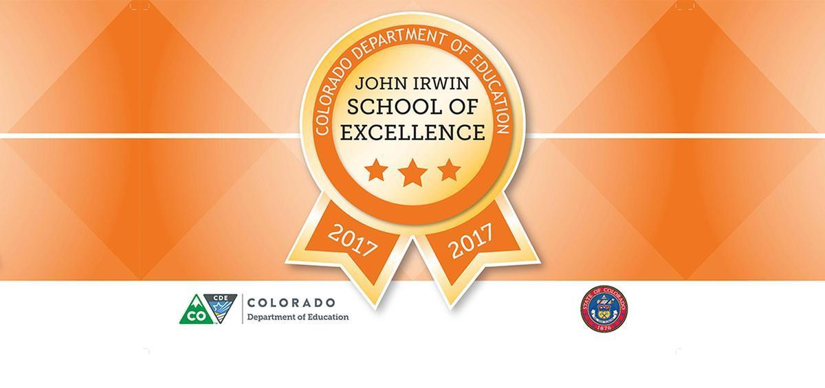 John Irwin School of Excellence Award Banner for 2017