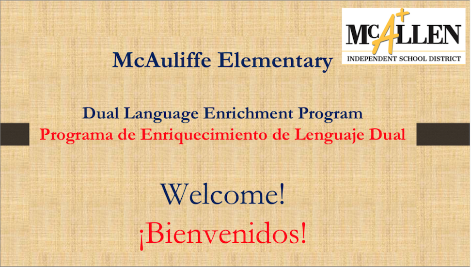 Dual language slide 1