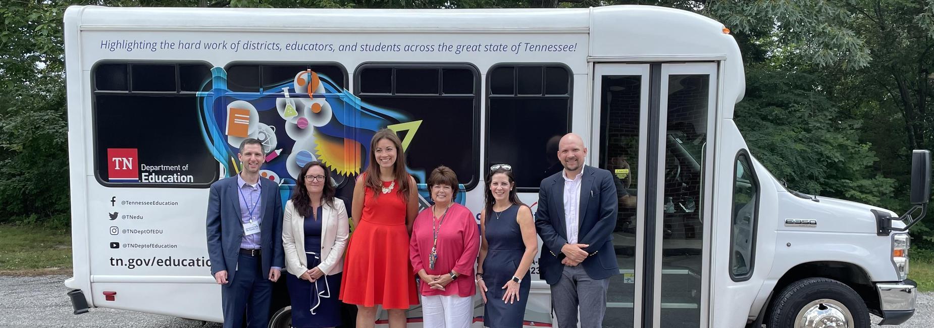 Commissioner Schwinn visits Pickett County Schools