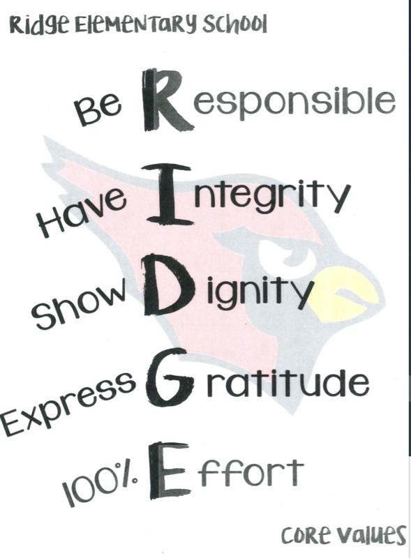 Ridge Core Values