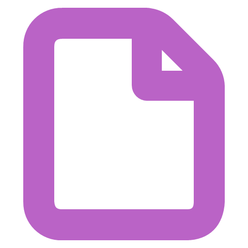 Blank Form Icon