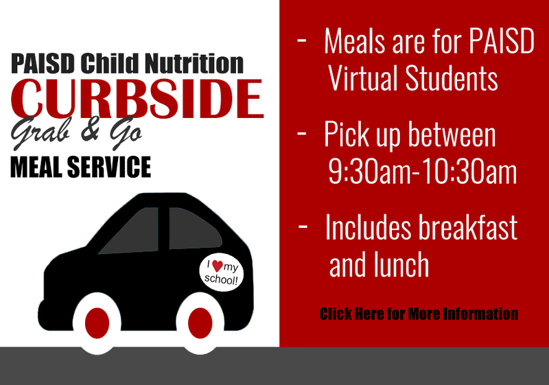 PAISD Curbside/Grab & Go Meal Service Featured Photo
