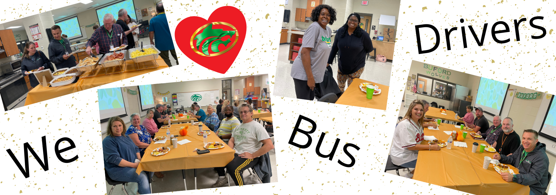 We love our Bus Drivers