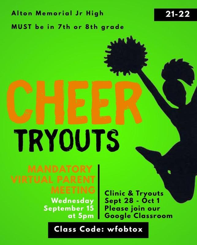 Cheer tryouts meeting.