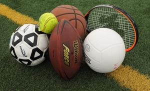Sport equipment for required sports played like basketball, volleyball, football