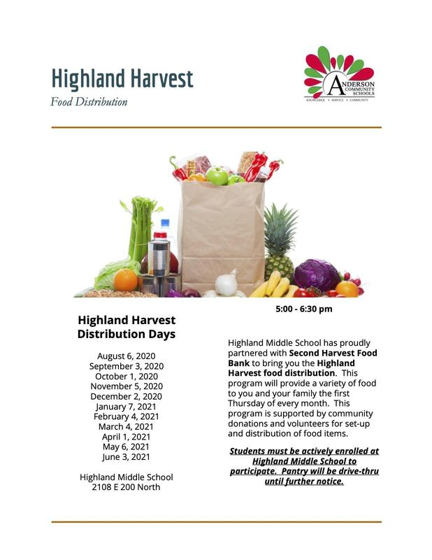 Highland Harvest Food Distribution Thumbnail Image