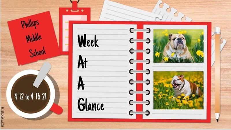 Bulldog Week At A Glance 4.12 to 4.16 Featured Photo