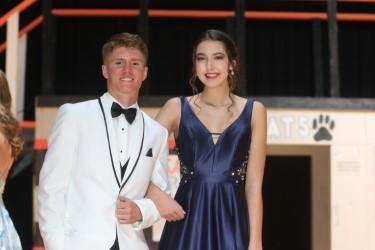 1st runner ups - Sarah Countiss and Austin Davidson