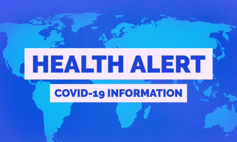 HEALTH ALERT-COVID19 Information