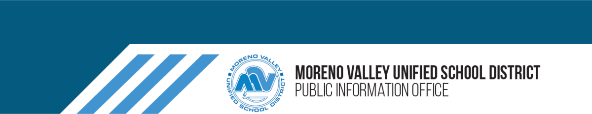 Public Information Office District Departments Moreno Valley