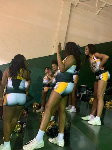 SPSD Cheer Basketball Season
