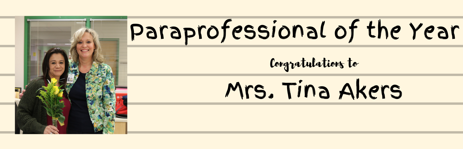paraprofessional of the year
