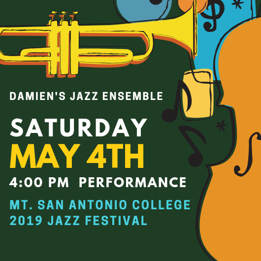 Jazz Ensemble performance at Mt. SAC Jazz Festival on May 4th Featured Photo