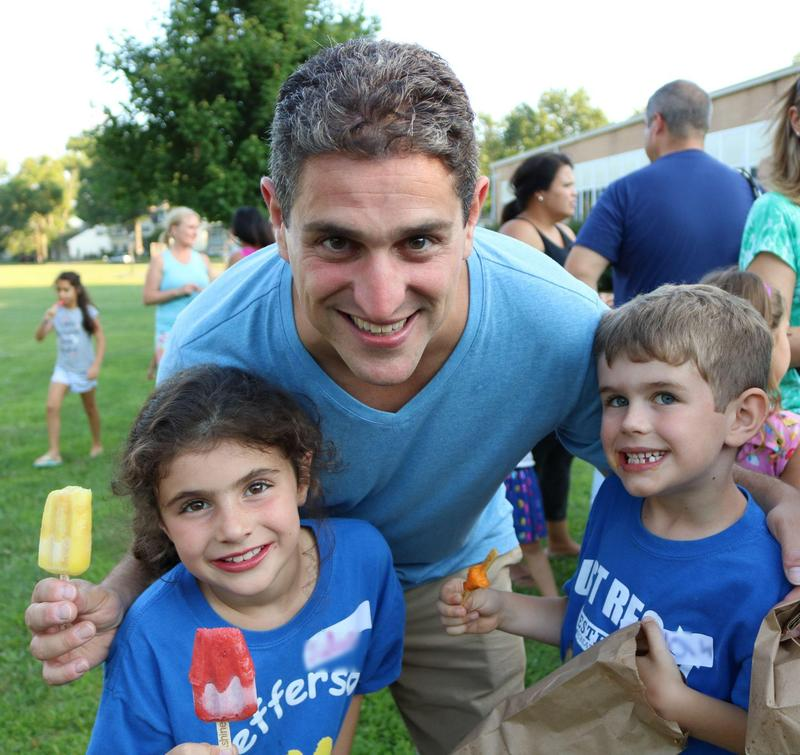 Jefferson family enjoys Summer Social.