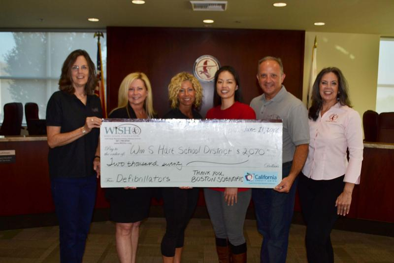 Boston Scientific Donates to WiSH Education Foundation