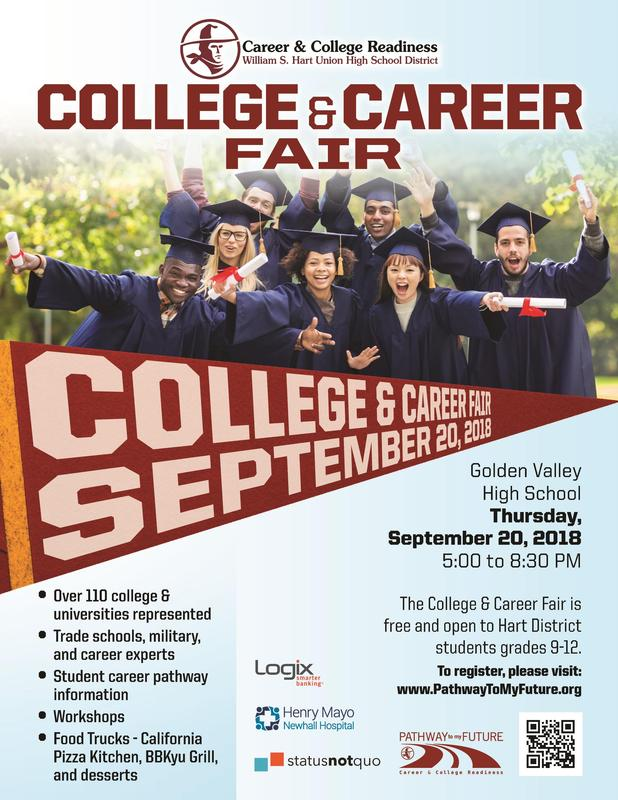 Hart District College and Career Fair 2018