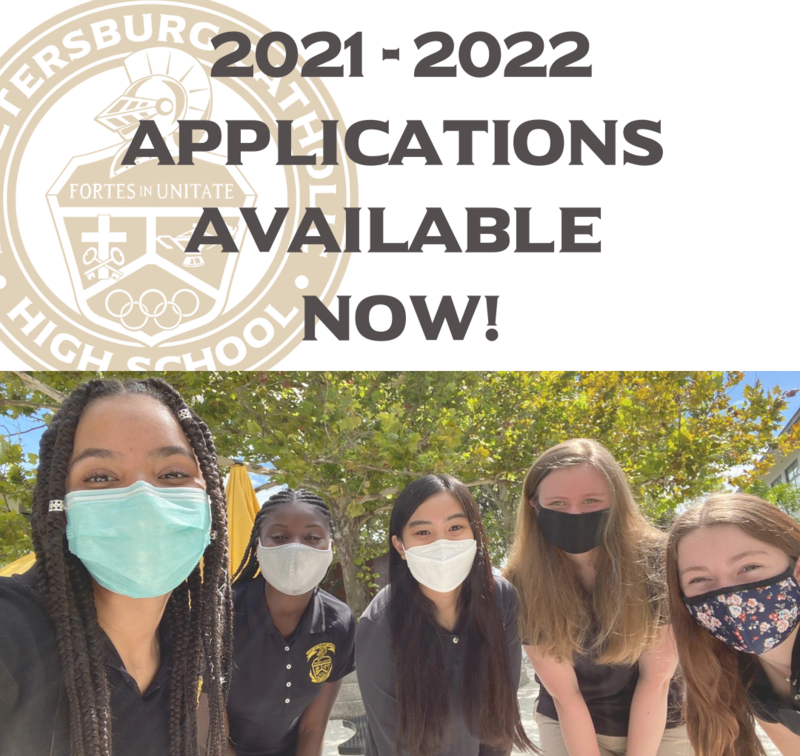 Apply to St. Petersburg Catholic High School TODAY! Featured Photo