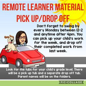 Remote Learner Pickup and Drop Off