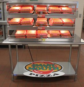 Smart Mouth Pizza is providing the Cheatham County School District with the necessary equipment and training to create personal-sized pizza in their own cafeteria daily.