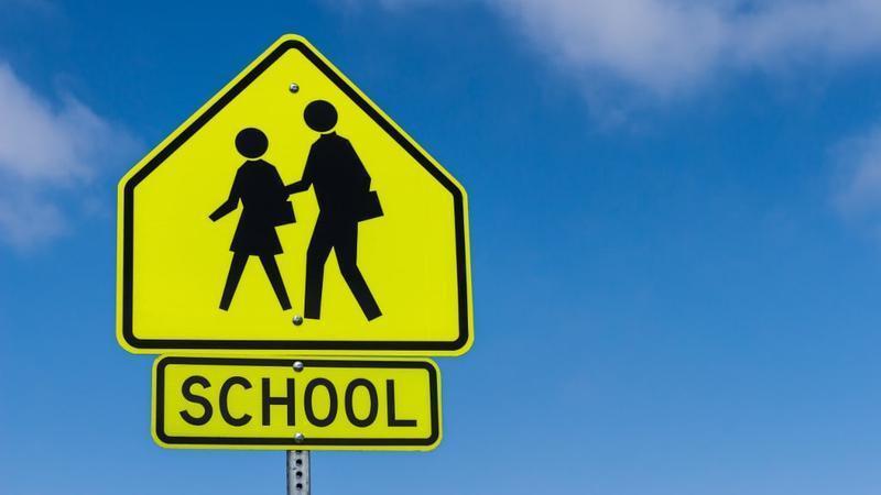 School zone picture