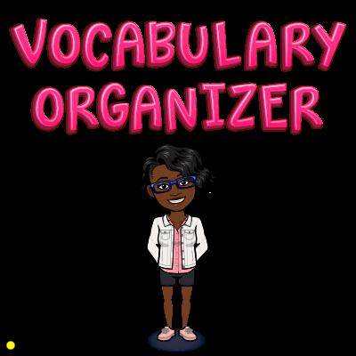 original vocab organizer