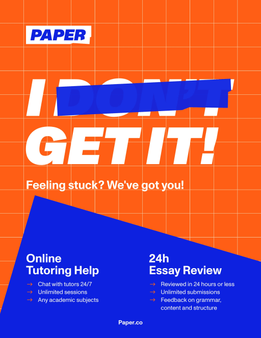 Paper Online Tutoring - I Get It!