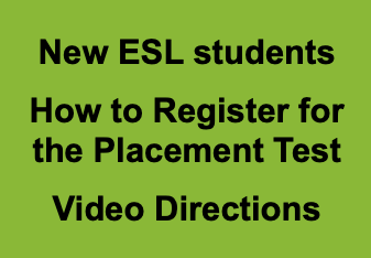 Click on this image to go to a YouTube video with directions on how to register for the placement test.