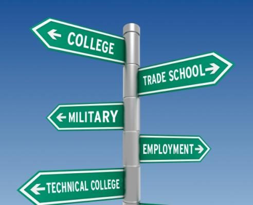 College street sign