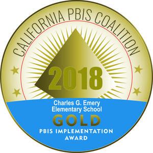 PBiS Gold Award | 2017-2018