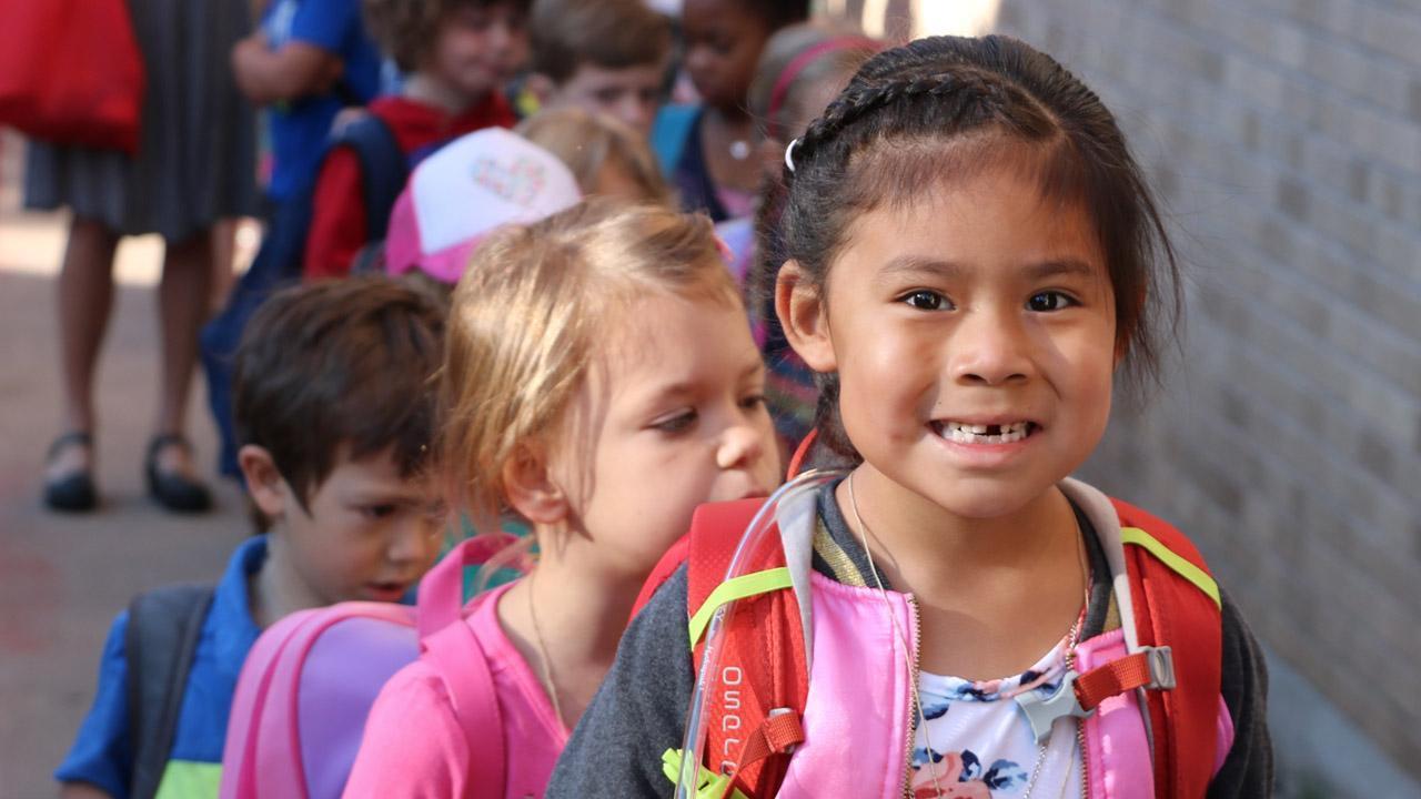 Juniper Charter Elementary Student Smile