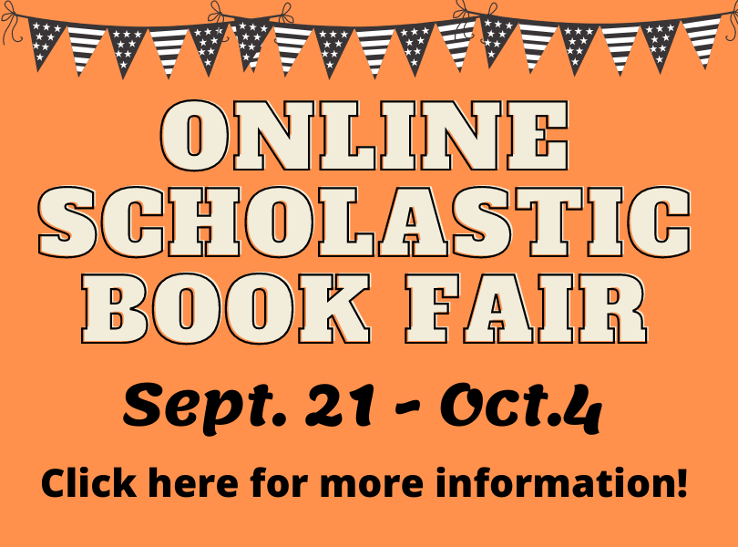 Online Scholastic Book Fair Sept. 21-Oct. 4