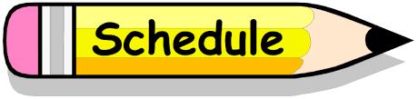 Schedule after break April 12, 2021 Featured Photo