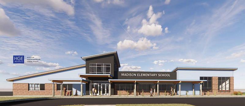 Madison School Rendering