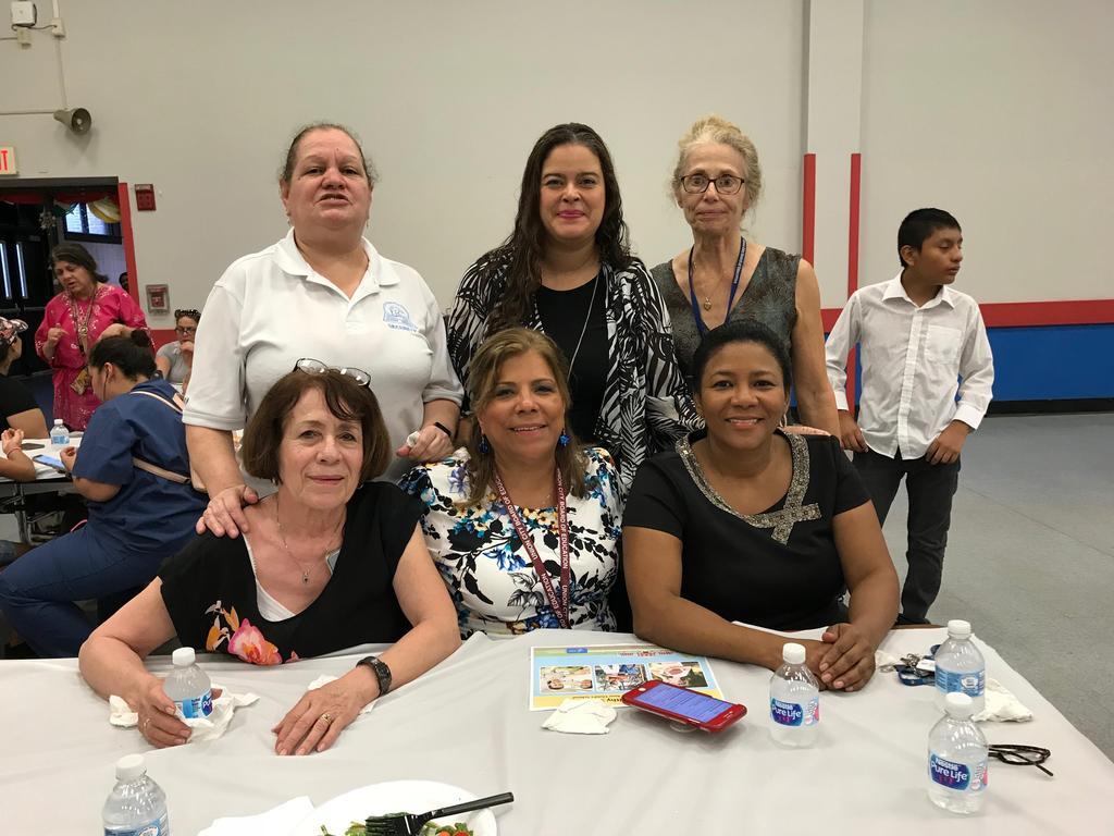 edison school nurse g. diaz, parent liaison with edison support staff