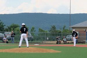 OLSH baseball players at the Keystone State Games