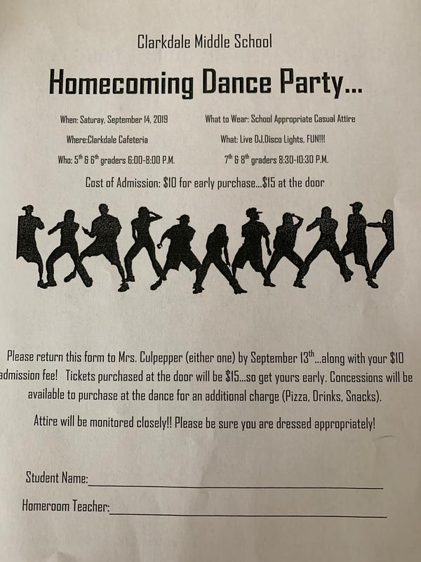 Homecoming Dance Form