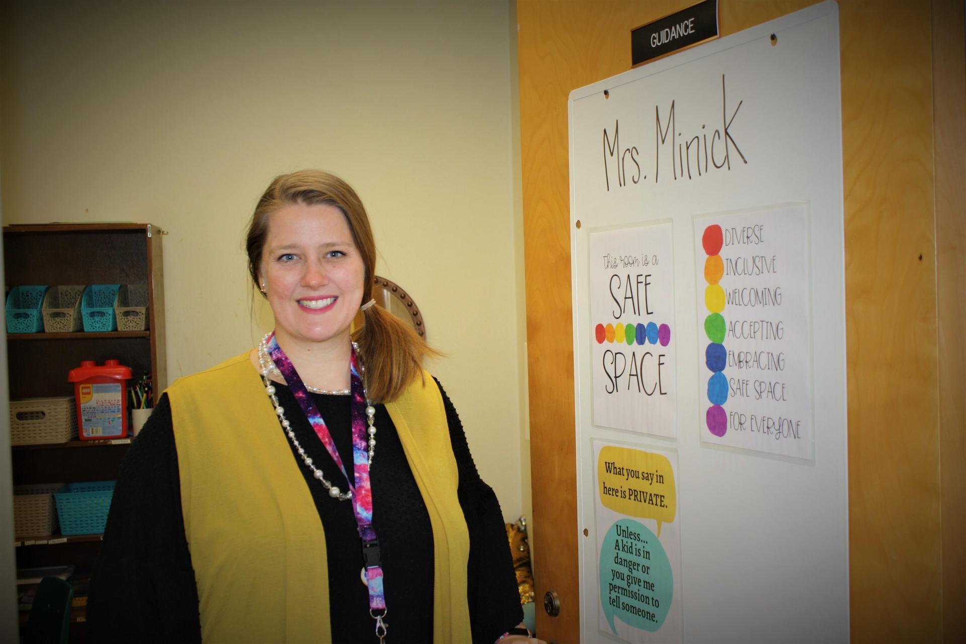 Rachel Minick, School Guidance Counselor