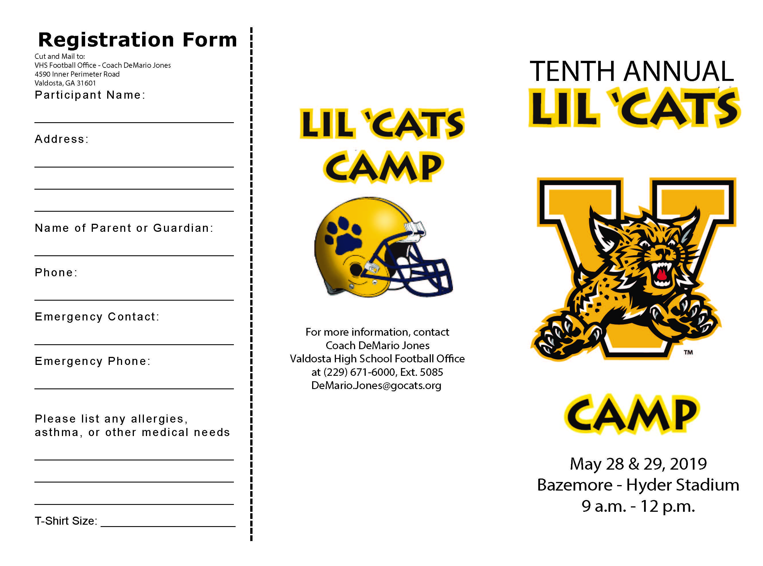 Lil Cats Camp Page 1