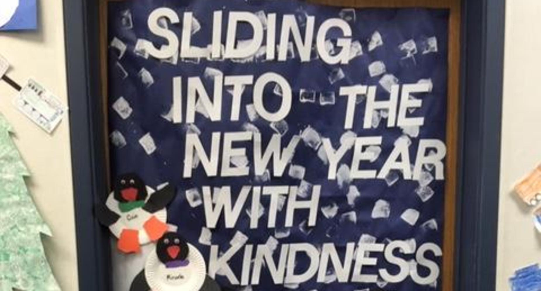 Sliding into the New Year with Kindness.