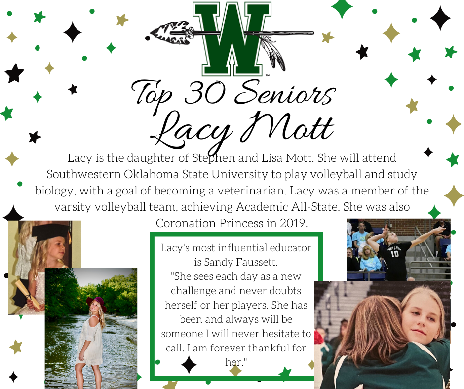 graphic of lacy mott