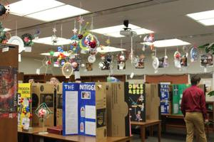 Chemistry Symposium Projects - Atoms and displays