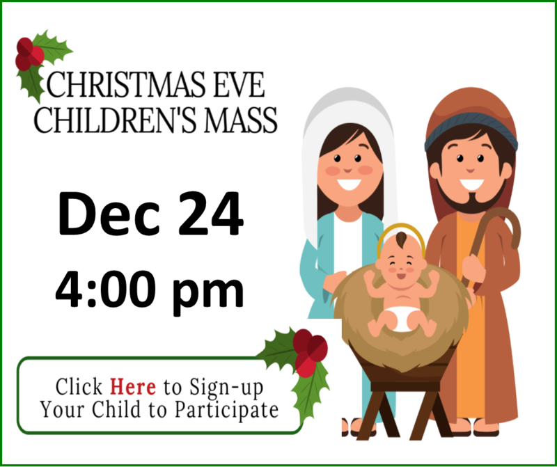 Sign Up for Children's Mass Thumbnail Image