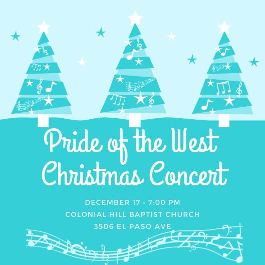 SHS Pride of the West Christmas Concert Featured Photo
