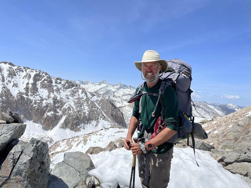Tom on Mountain Top