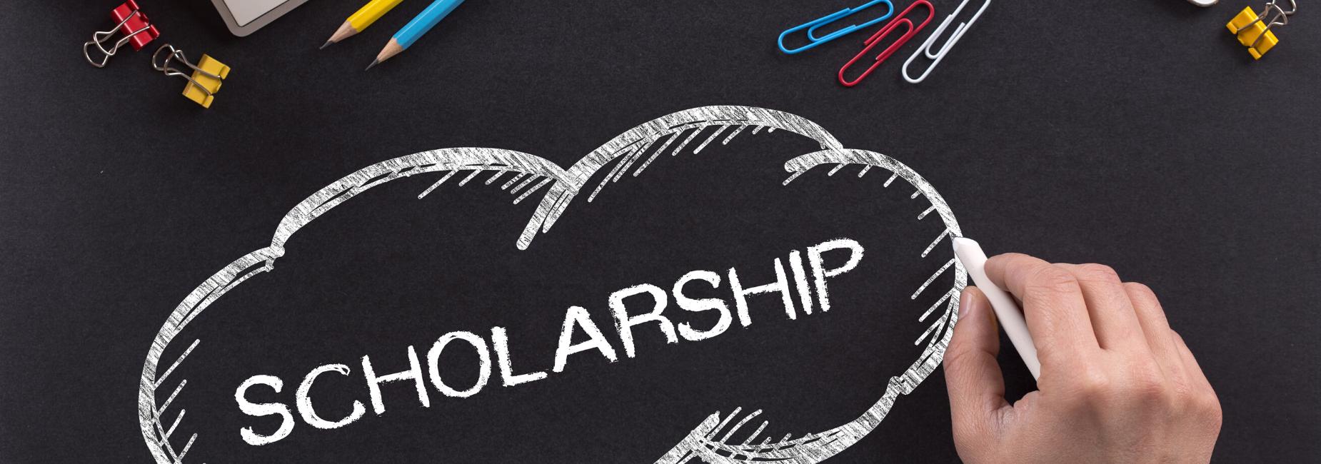 scholarship written in chalk