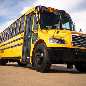 a Waxahachie school bus